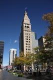 D&F historique Clocktower - Denver Images libres de droits