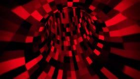3D fantastyka naukowa Arificial inteligenci Czerwony tunel - VJ pętli ruchu tło V2