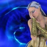 3D fantasy girl Royalty Free Stock Photography