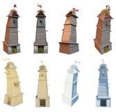 3D fantasy tower Stock Photo