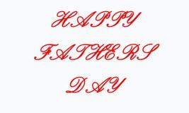 D?a feliz del ` s del padre, dise?o del texto caligraf?a del vector Cartel de la tipograf?a Usable como fondo stock de ilustración