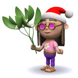 3d Festive hippy Royalty Free Stock Images