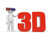 3D film Royalty Free Stock Photos