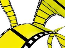 3D film strip Stock Photography