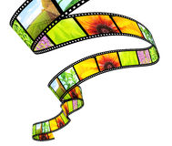 3d filmstrip Stock Photo