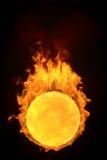 3d fireball Royalty Free Stock Photography