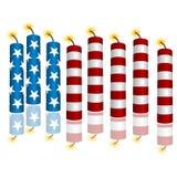 3d Flag Firecrackers Stock Photo