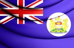 3D Flag of Hong Kong Royalty Free Stock Photography