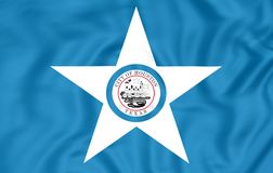 Flag of Houston Texas, USA. Royalty Free Stock Image