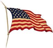 3d flagga USA Arkivfoton