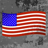 3d flagga USA Royaltyfri Foto