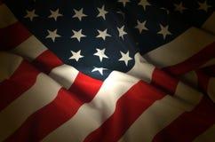 3d flagga USA Arkivbilder