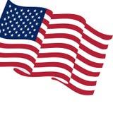 3d flagga USA Royaltyfri Bild