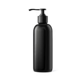 3d fles voor schoonheidsmiddelen Stock Foto