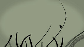 3d floral Backgound stock de ilustración