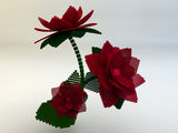3d flower Royalty Free Stock Image