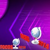 3d Focus 2014 illustration Stock Photo