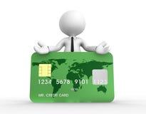 Kreditkort Fotografering för Bildbyråer