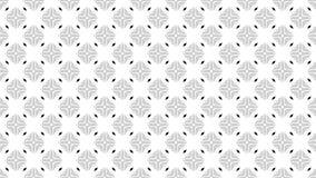 2D fondo grafico del modello che gira in un senso orario composto di parecchie progettazioni con struttura multicolore illustrazione di stock