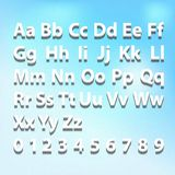 3d font Royalty Free Stock Image