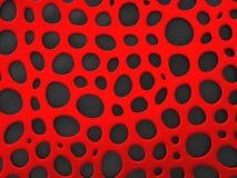 3D formalnie siatki organicznie tło Zdjęcia Stock