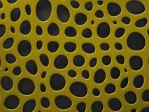 3D formalnie siatki organicznie tło Fotografia Royalty Free
