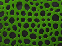 3D formalnie siatki organicznie tło Obraz Royalty Free