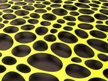 3D formalnie siatki organicznie tło Obraz Stock