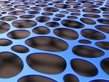 3D formalnie siatki organicznie tło Fotografia Stock