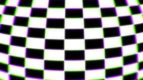 3d formas quadriculados coloridas, fundo abstrato moderno gerado por computador, rendição 3d ilustração do vetor