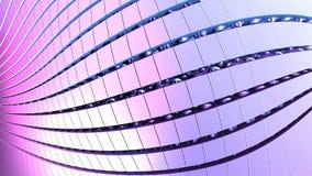 3D forme geometriche, illustrazione del fondo 3D Immagini Stock
