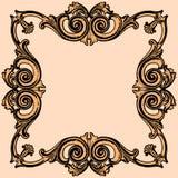 3 d formie ram trzy piękne wymiarowej ilustracji bardzo roczne Zdjęcie Stock
