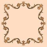 3 d formie ram trzy piękne wymiarowej ilustracji bardzo roczne Obrazy Royalty Free