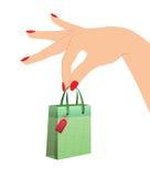 3 d formie wymiarowej bagaże piękną zakupy ilustracyjny trzech bardzo Obraz Royalty Free