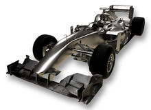 A 3d formula 1 car Royalty Free Stock Photo