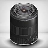 3d fotografii obiektyw EPS 10 Obrazy Stock