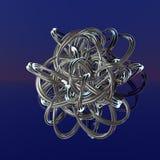 3d fractal achtergrond Royalty-vrije Stock Afbeeldingen