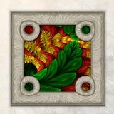 3D fractal Combo obramiająca grafika Obrazy Royalty Free