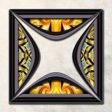 3D fractal Combo obramiająca grafika Zdjęcia Stock