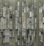 3d fragmented gray abstract grunge pattern backdrop Royalty Free Stock Photo