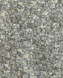 3d fragmented gray timber tile grunge pattern backdrop Royalty Free Stock Photography