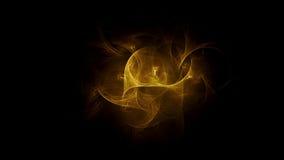 3D frambragd bakgrund för fractalabstrakt begreppljus arkivfoto