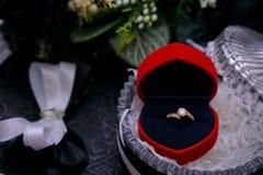 3d frambragt bildcirkelbröllop Arkivbilder