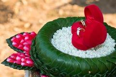 3d frambragt bildcirkelbröllop Royaltyfria Foton