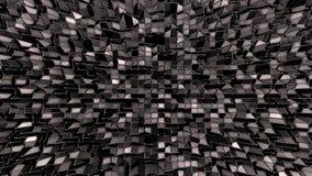 3d framför av abstrakt geometrisk bakgrund med moderna lutningfärger i låg poly stil yttersida för svart 3d och med raster royaltyfri illustrationer