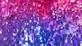 3d framför av abstrakt geometrisk bakgrund med moderna lutningfärger i låg poly stil yttersida 3d med trevlig lutning stock illustrationer