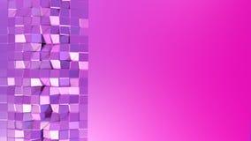 3d framför av abstrakt geometrisk bakgrund med moderna lutningfärger i låg poly stil yttersida 3d med trevligt blått rött vektor illustrationer