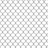 3d framför av ett staket för Chain sammanlänkning Arkivbilder