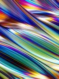 3d framför, holographic folie, abstrakt regnbågebakgrund, vibrerande linjer, krabb yttersida, reflexionen, randig textur royaltyfri illustrationer