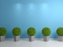 3d framförda växter Arkivfoton
